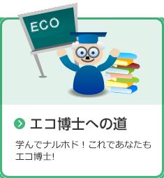 エコ博士への道